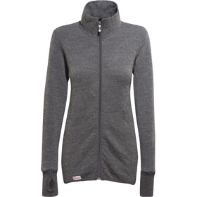 Woolpower 400 Giacca con zip intera, grey